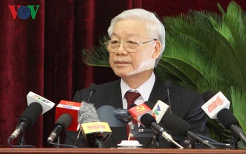 Party Central Committee wraps up fourth plenary meeting - ảnh 1