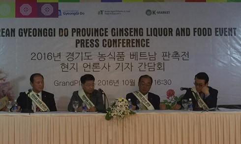 Korean Gyeonggi-do province promotes trade in Vietnam - ảnh 1