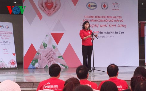 Vietnam Red Cross Society urged to do more for humanitarian initiatives - ảnh 1