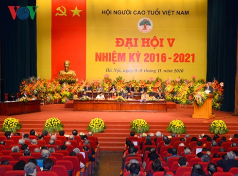 Vietnam Association of the Elderly opens 5th Congress - ảnh 1