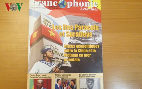 French magazine carries special edition on East Sea - ảnh 1