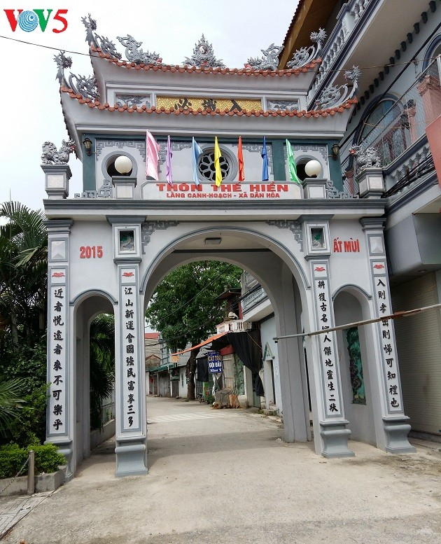 Canh Hoach, the village of two top doctorate winners - ảnh 1