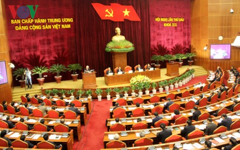 Party Central Committee opens sixth session - ảnh 1
