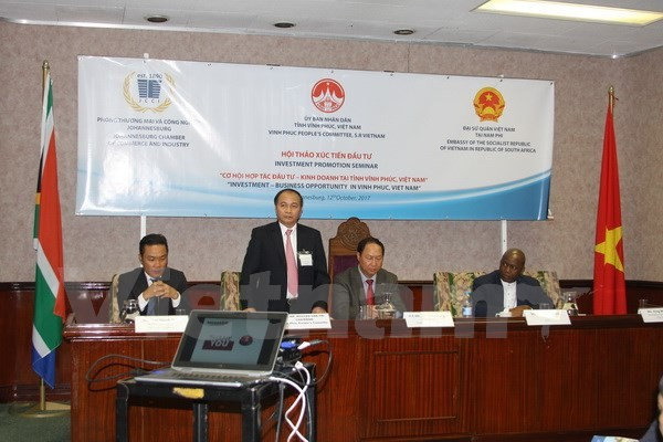 Vietnam, South Africa promote investment - ảnh 1