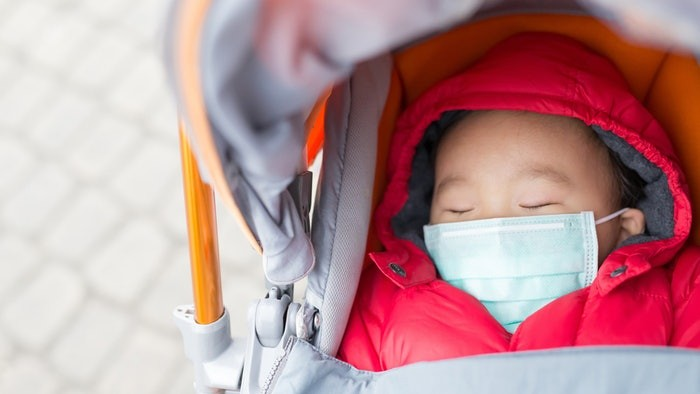 Air pollution negatively affects child brain development - ảnh 1