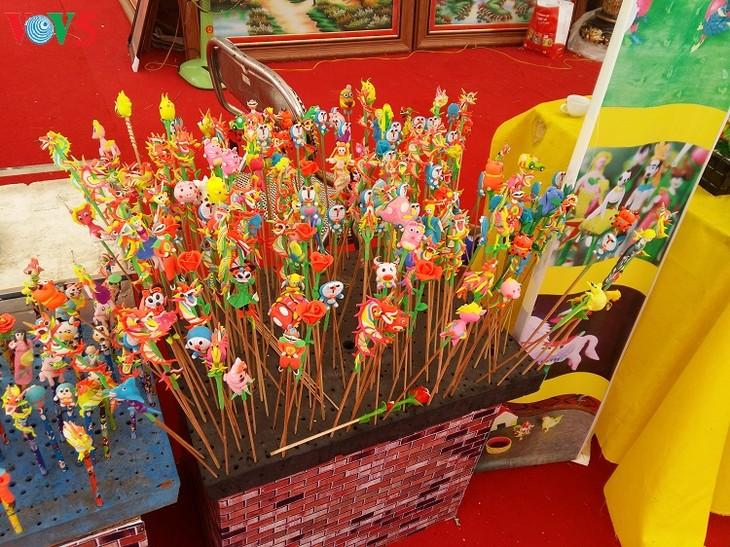 Rice powder figurine making in Xuan La village - ảnh 2