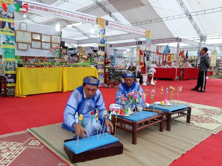 Rice powder figurine making in Xuan La village - ảnh 3