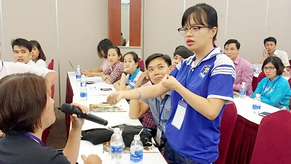 Disabled students given opportunities to get better education - ảnh 1