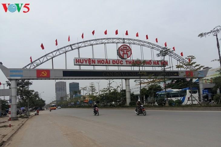 Hoai Duc set to become modern urban center - ảnh 1