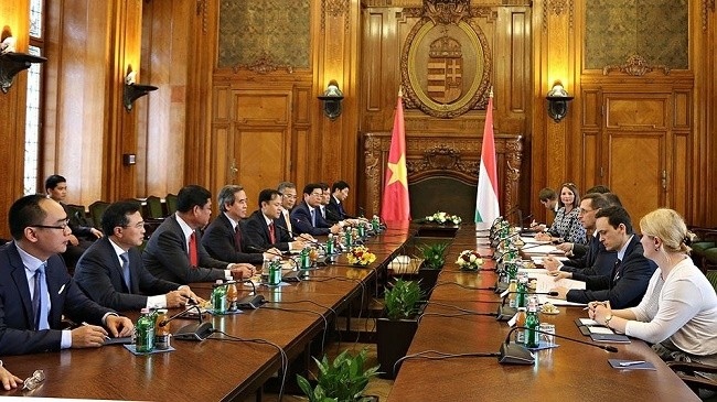 Vietnam wants to develop multi-faceted relations with Hungary - ảnh 1