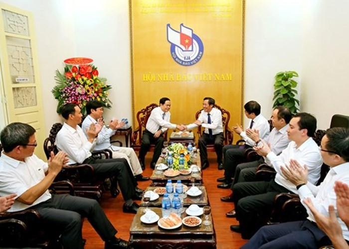 VFF President congratulates media agencies on Vietnam Revolutionary Press Day - ảnh 1