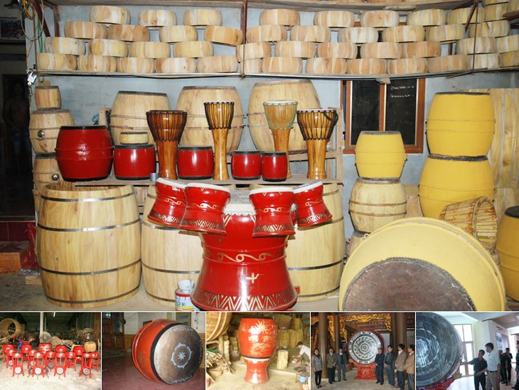 Doi Tam village and the art of drum making - ảnh 3