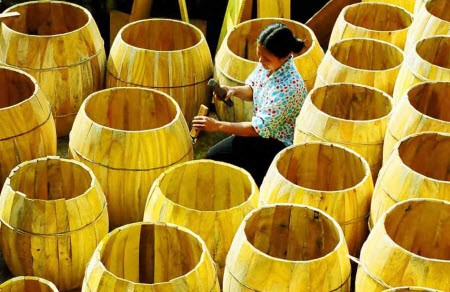 Doi Tam village and the art of drum making - ảnh 1