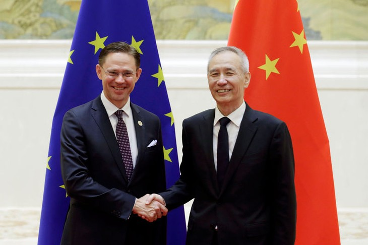 China, EU to conclude talks on bilateral investment deal - ảnh 1