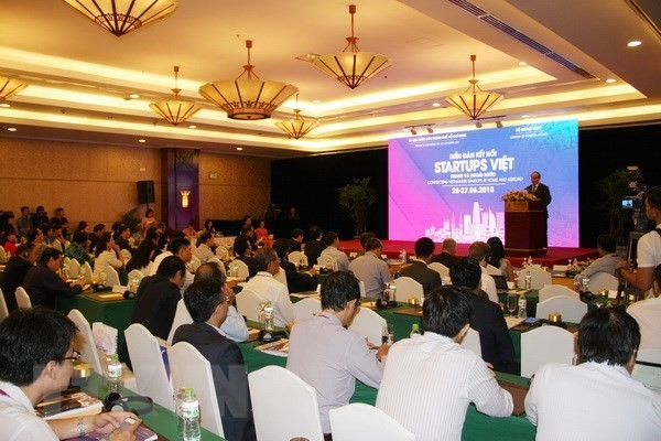 Forum connects Vietnamese startups  - ảnh 1