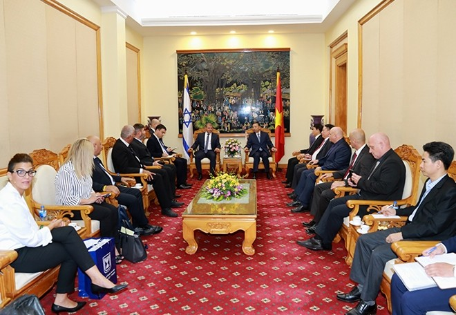 Vietnam, Israel to boost cooperation in fighting crime - ảnh 1