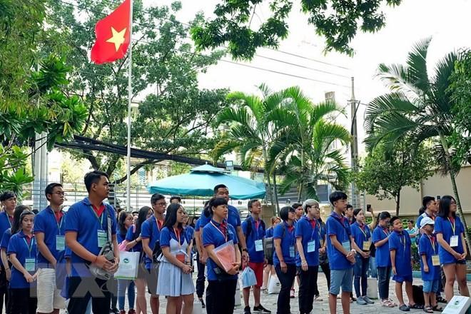 Summer camp stirs up expatriates'  patriotism  - ảnh 1