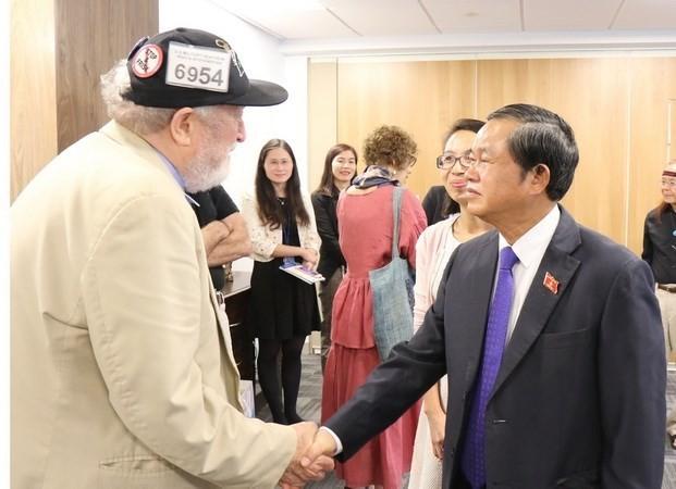 NA Vice Chairman wraps up US visit - ảnh 1