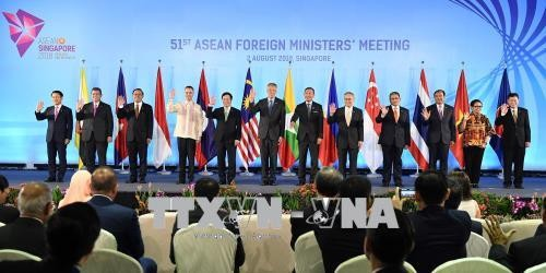 Foreign Ministers of ASEAN, Japan, Russia, China, New Zealand discuss cooperation - ảnh 1
