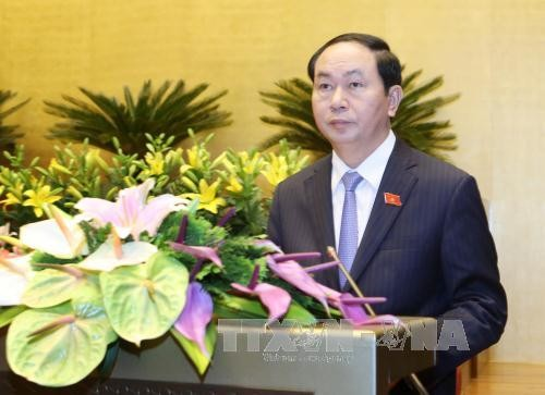 越南国会免去国家副主席、最高人民法院院长和最高人民检察院检察长职务 - ảnh 1