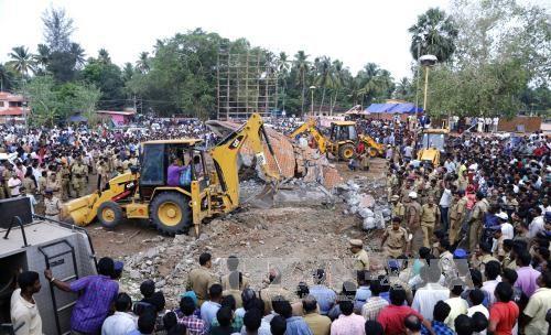 印度发生火灾 至少100人死亡 - ảnh 1