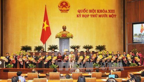 越南国会代表和选民深信新政府将是活跃高效的政府 - ảnh 1