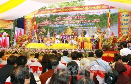 越南第一所佛学院——琼林寺修缮工程动工 - ảnh 1