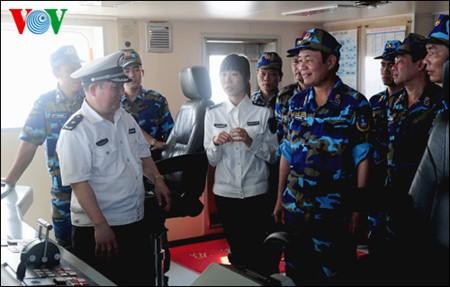 越南和中国开展第11次北部湾共同渔区渔业海上联合检查 - ảnh 1