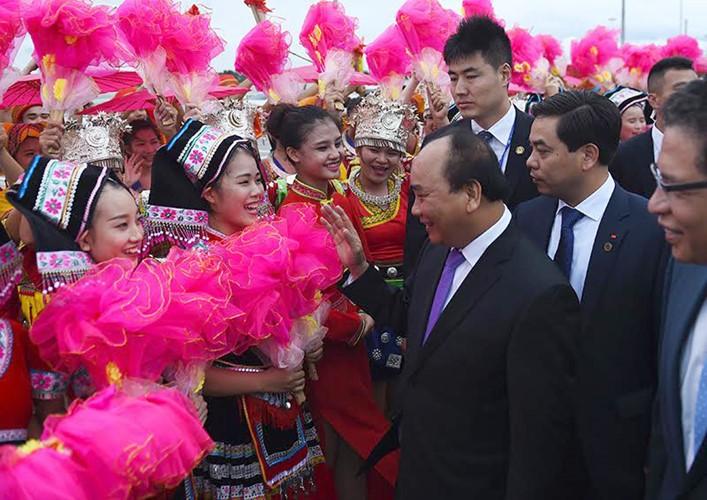 越南政府总理阮春福访华全程图片集锦 - ảnh 1