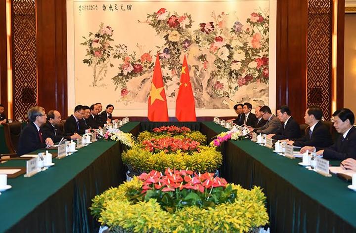 越南政府总理阮春福访华全程图片集锦 - ảnh 3