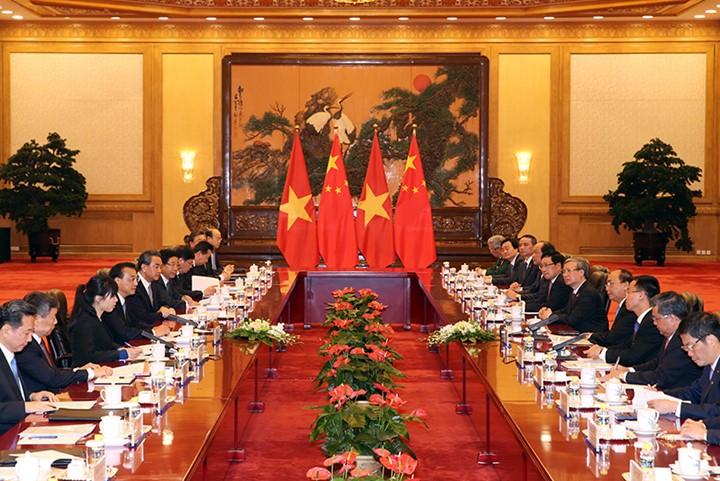 越南政府总理阮春福访华全程图片集锦 - ảnh 8