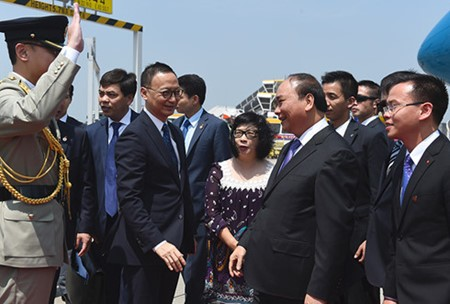 越南政府总理阮春福访华全程图片集锦 - ảnh 12