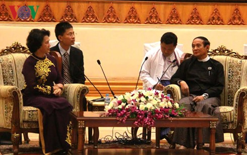 推进越缅国会合作 - ảnh 1