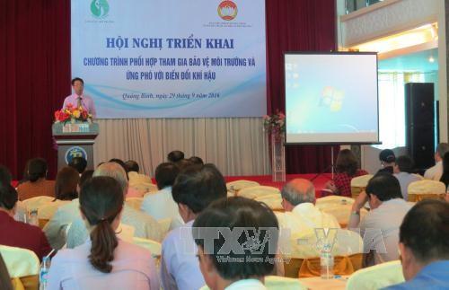 越南中北部各省开展配合参与保护环境和应对气候变化计划 - ảnh 1