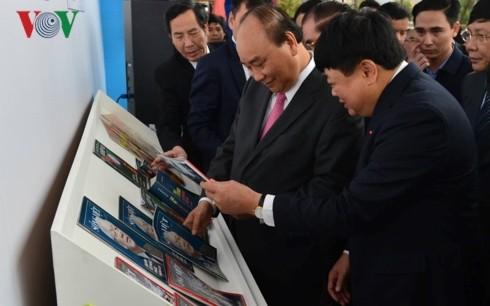 Thủ tướng đánh trống khai mạc Hội Báo toàn quốc 2019 tại Hà Nội - ảnh 7
