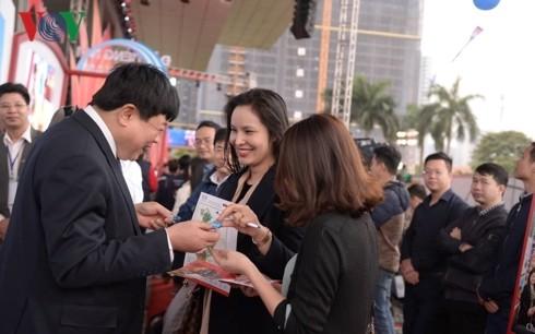 Thủ tướng đánh trống khai mạc Hội Báo toàn quốc 2019 tại Hà Nội - ảnh 9