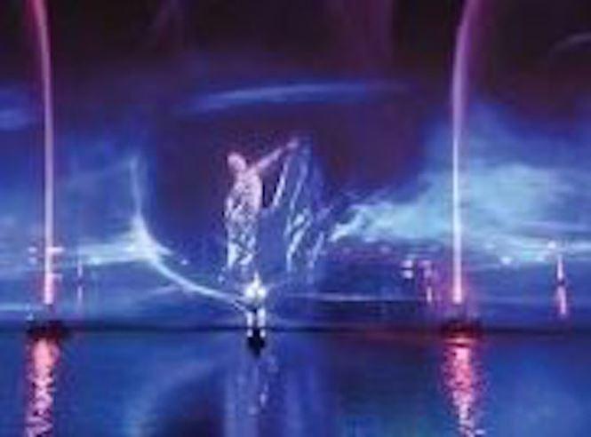 Dịp lễ 30/4, Laser show màn hình nước 3D chính thức có mặt tại Việt Nam - ảnh 2