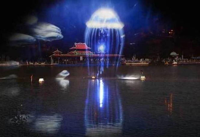Dịp lễ 30/4, Laser show màn hình nước 3D chính thức có mặt tại Việt Nam - ảnh 5