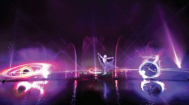 Dịp lễ 30/4, Laser show màn hình nước 3D chính thức có mặt tại Việt Nam - ảnh 4