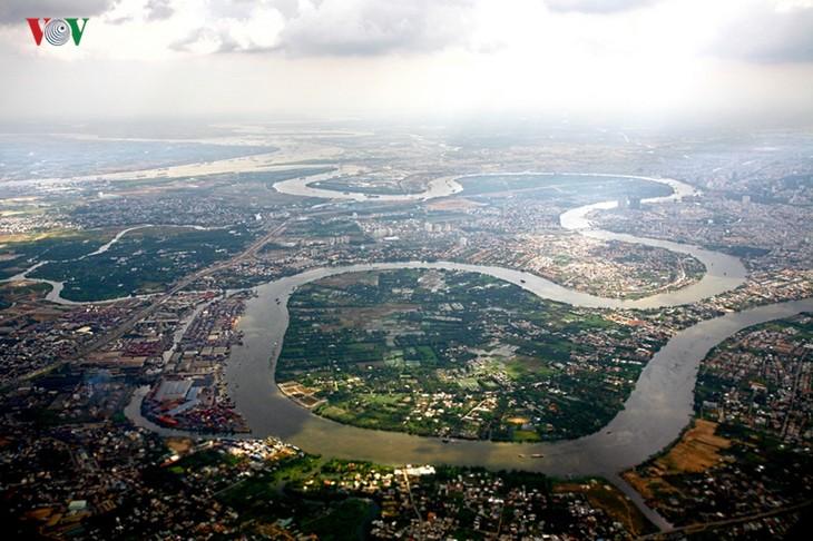 Ấn tượng vẻ đẹp sông nước của thành phố Hồ Chí Minh - ảnh 1