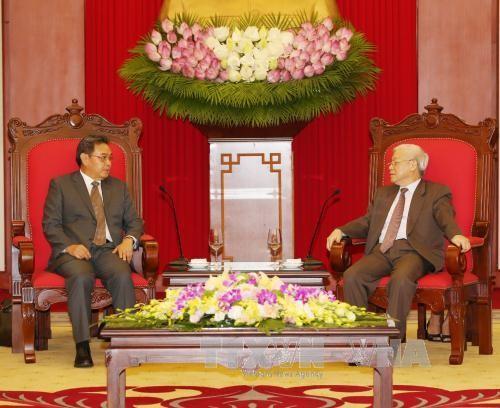 Renforcer les relations Vietnam-Laos-Cambodge - ảnh 2