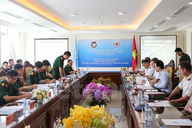 Mission de l'ONU: échanges entre des experts vietnamiens et étrangers - ảnh 1
