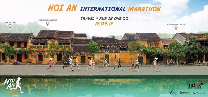 Premier marathon touristique à Hoi An - ảnh 1