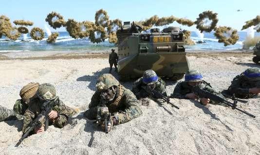 Séoul et Washington lancent leurs manœuvres «Ulchi-Freedom Guardian» - ảnh 1
