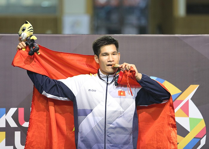 SEA Games 29 : deux médailles d'or en pencak silat - ảnh 1