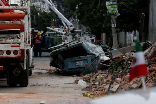 Séisme au Mexique: au moins 59 morts - ảnh 1