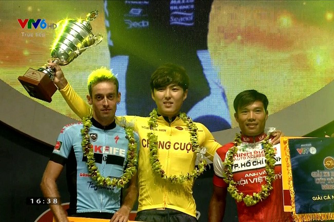 Remise des prix de la course internationale de cyclisme de VTV - Hoa Sen 2017 - ảnh 1