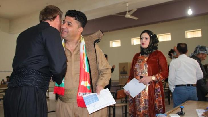 Kurdistan irakien: le référendum sur l'indépendance a commencé - ảnh 1