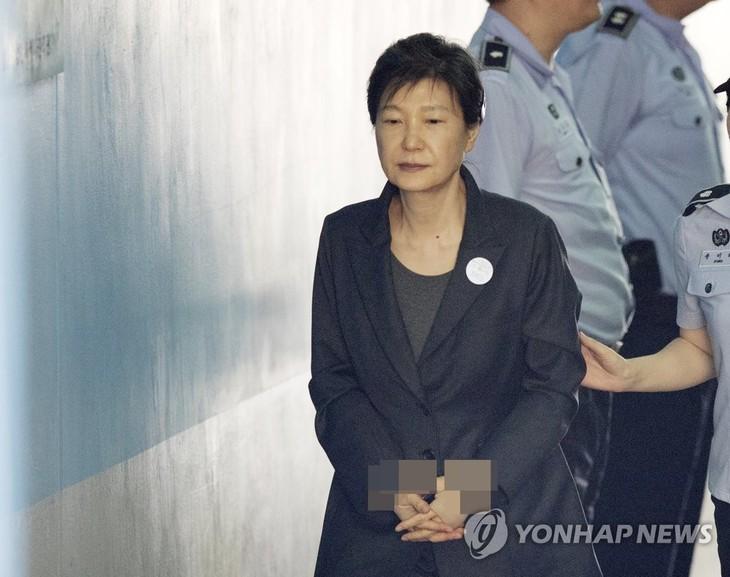 Le Parquet cherche à prolonger la détention provisoire de Park Geun-hye - ảnh 1