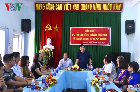Le président de la Voix du Vietnam en déplacement à Binh Dinh - ảnh 2